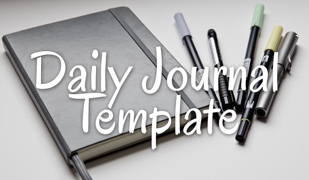 Lynk's Daily Journal Template